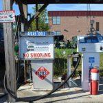 ガソリン価格低下(?)で「現金カード」が使用中止になった