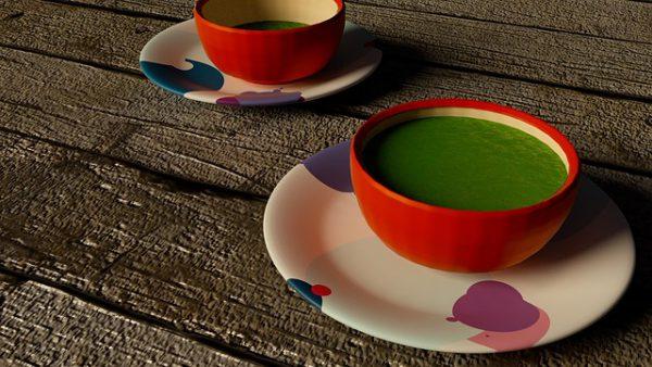 zwei tassen tee