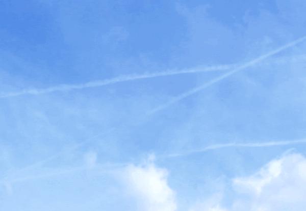Blue sky 2017 April