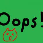 Feeldyボタンを押しても購読できず「Oops!」画面になる不具合を修正